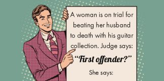 A WOMAN IS ON TRIAL