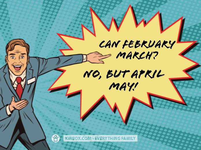 CAN FEBRUARY MARCH?