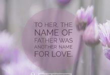 THE NAME OF FATHER