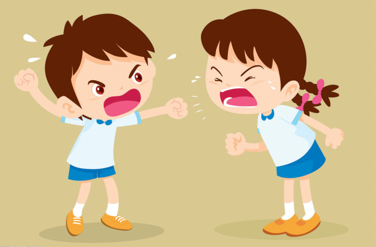why it's good for siblings to fight