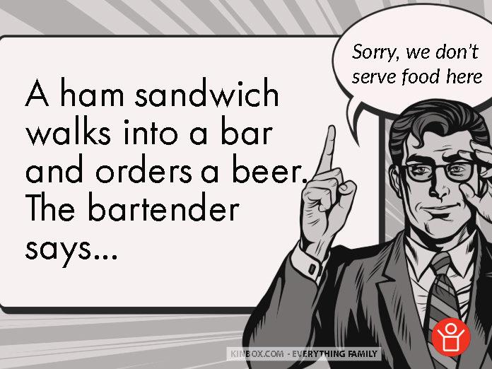 A ham sandwich