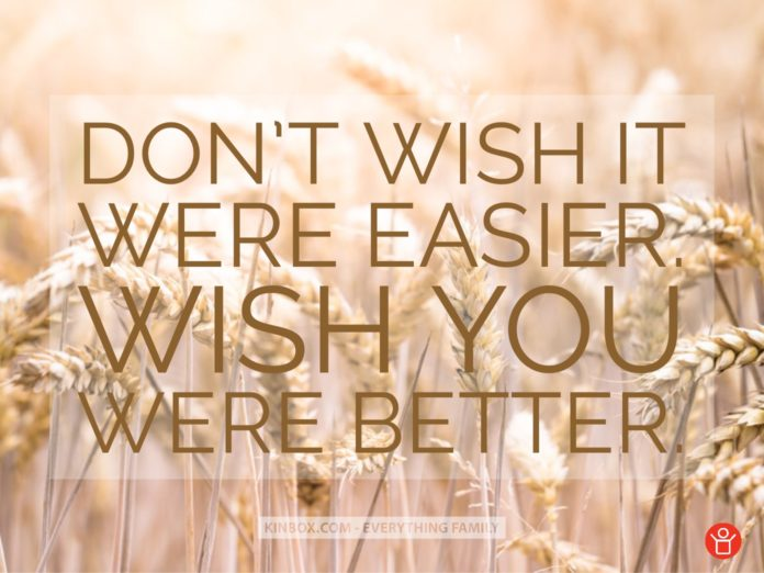 Wish you were better