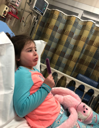 Why My Brave Little Girl With The Rare Disease Breaks My Heart Into A Million Pieces - bailey s battle 1 325x420