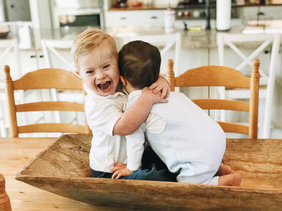 Down Syndrome, Adoption, Seven Kids – They Weren't In My Life Plan, But I Wouldn't Change A Thing - down syndrome adoption seven kids they werent in my life plan but i wouldnt change a thing 4 560x420