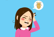 get rid of head lice