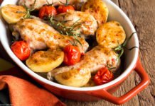 Something For The Weekend – Spiced Chicken And Potato Traybake