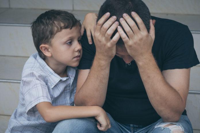 postnatal depression men
