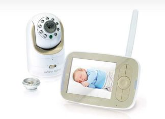 If You Want To Keep A Close Eye On Your Baby, The Infant Optics Video Monitor Is Exactly What You Need