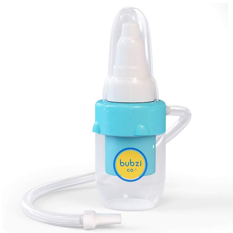 This Bubzi Nasal Aspirator Is The Gentle, Effective Way To Clear Your Baby's Blocked Nose - bubzi3 750