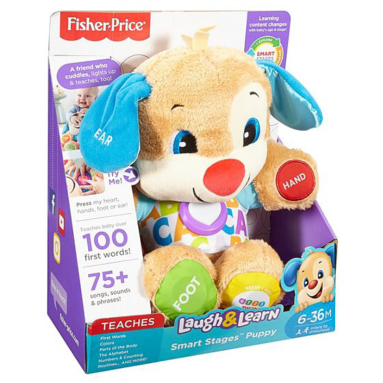 Meet Your Baby's New Best Friend – They'll Laugh And Learn With The Fisher-Price Smart Stages Puppy - FDF21 08