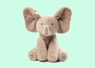 A Timeless Gift Any Child Will Cherish – Baby GUND's Flappy the Elephant Is Simply Adorable