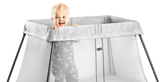 The Baby Bjorn Travel Crib Light Is The Simple, Stylish Sleep Solution When Travelling With Your Child