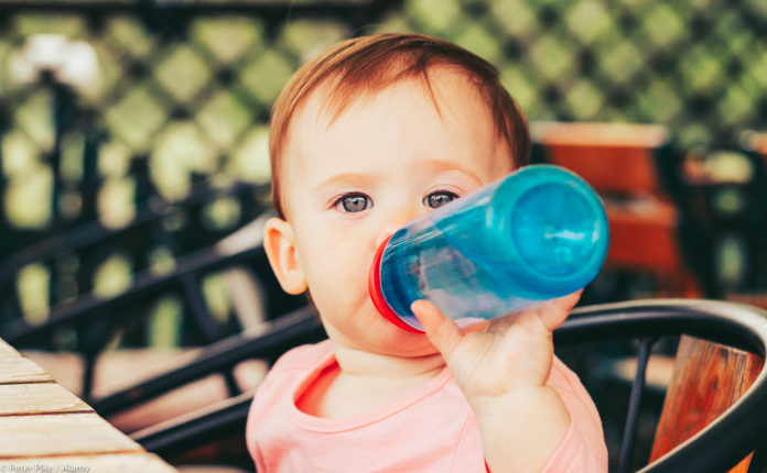 can babies drink water