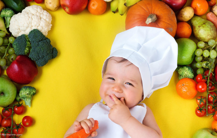Feeding and nourishing a vegetarian child